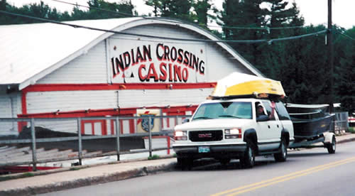Indian crossing casino waupaca